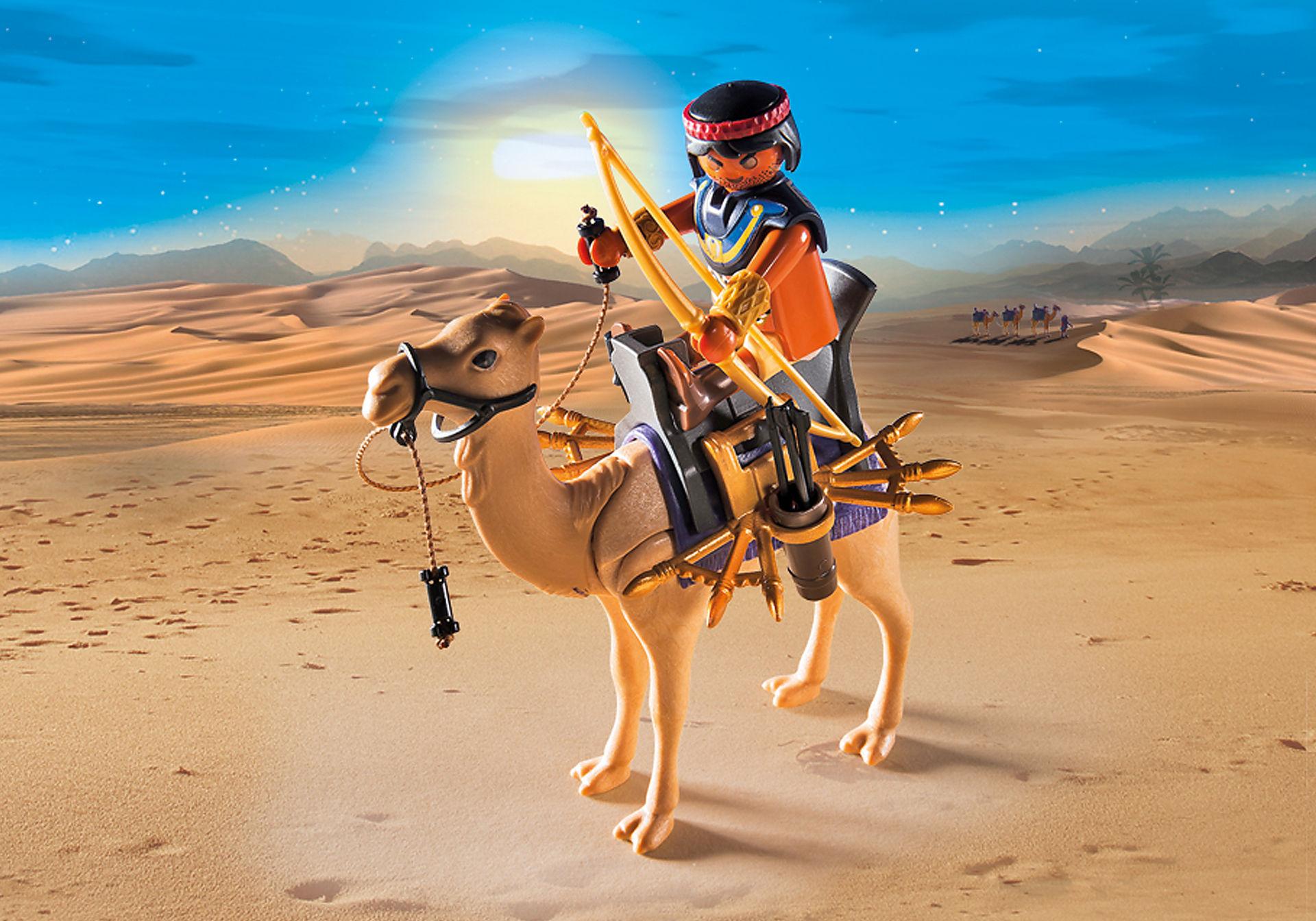 http://media.playmobil.com/i/playmobil/5389_product_extra1/Римляне и Египтяне: Египетский воин с верблюдом