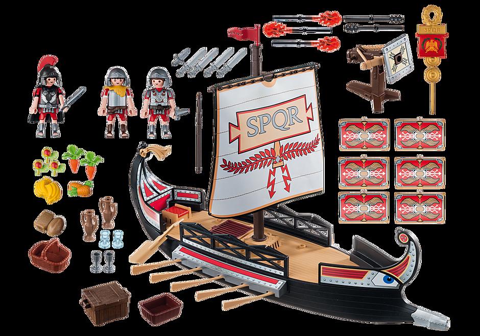 5390 Romerskt krigsfartyg detail image 4