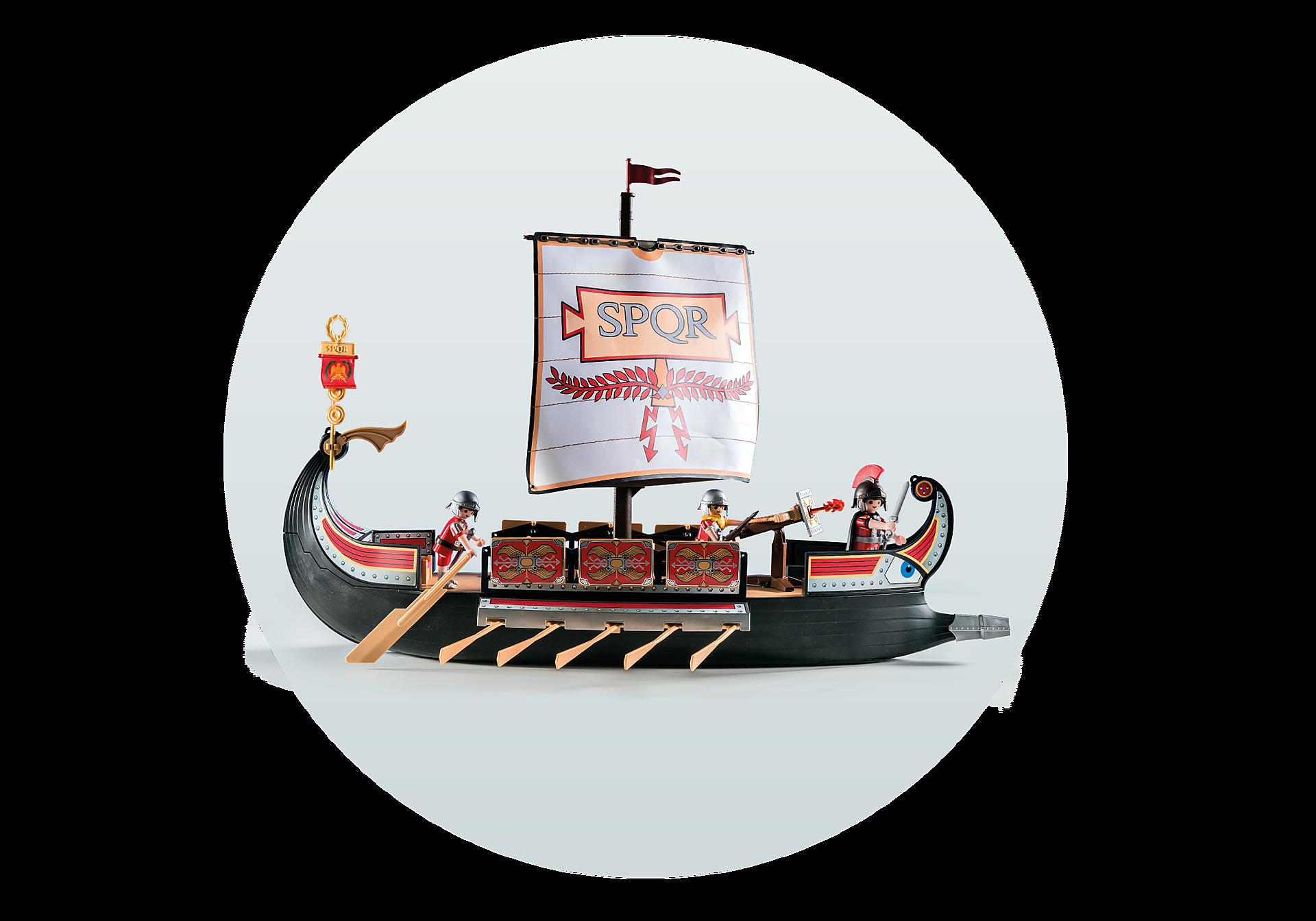 5390 Римляне и Египтяне: Корабль Римских воинов zoom image9