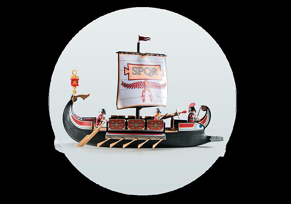 5390 Roman Warriors' Ship detail image 9