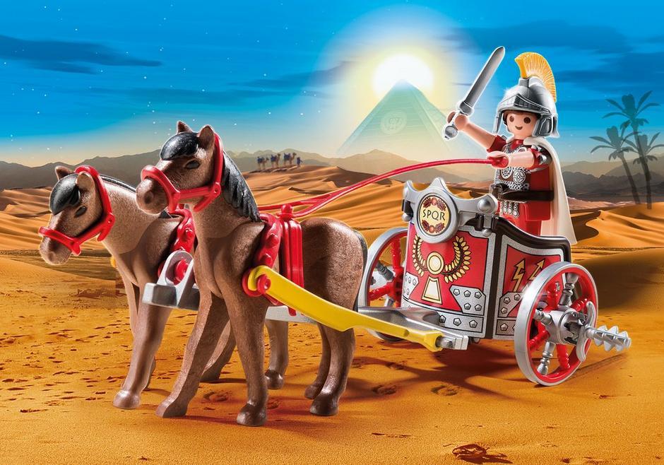 Roman chariot 5391 playmobil usa for Kutsche playmobil