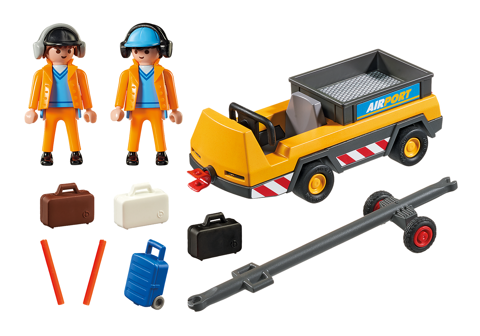 http://media.playmobil.com/i/playmobil/5396_product_box_back/Agents avec tracteur à bagages