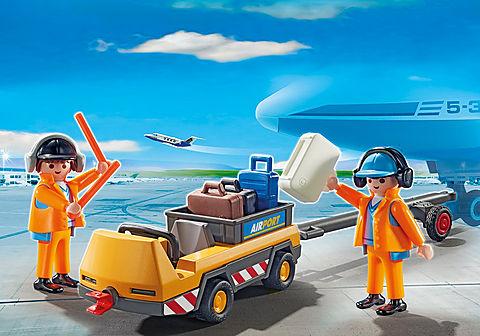 5396 Flugzeugschlepper mit Fluglotsen