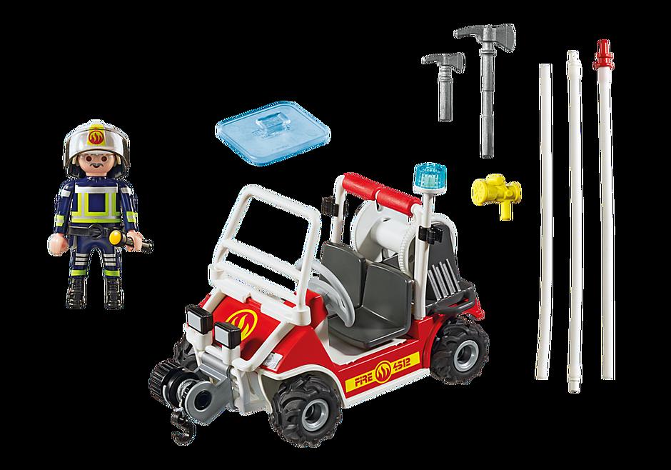 5398 Chef des pompiers avec voiturette detail image 4