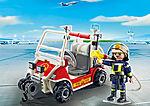 5398 Chef des pompiers avec voiturette