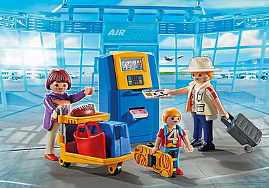 5399 Família no check-in automático