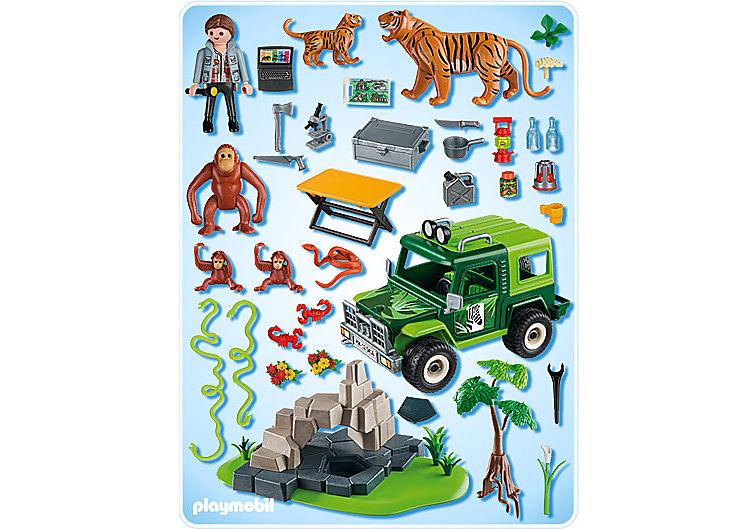 5416-A Geländewagen bei Tigern und Orang-Utans detail image 2