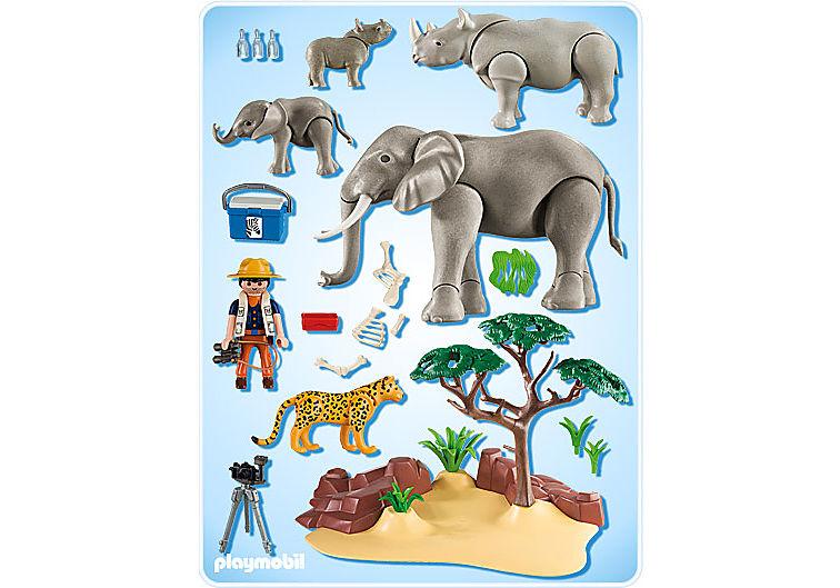 5417-A Afrikanische Savannentiere detail image 2