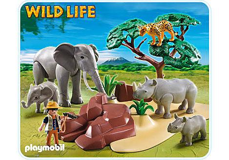5417-A Afrikanische Savannentiere detail image 1