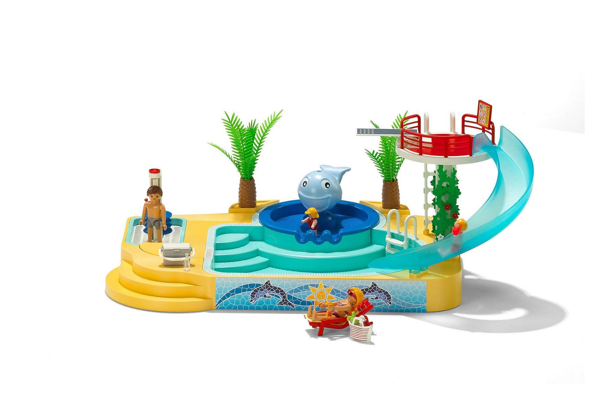 Beau piscine pour b b luxembourg piscine for Playmobil 5433 famille avec piscine et plongeoir