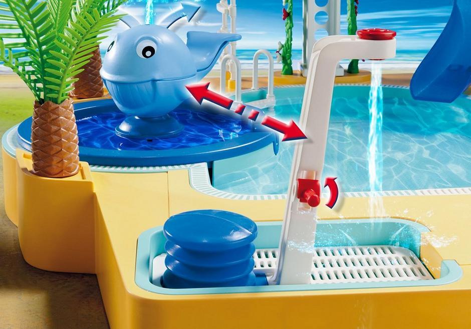 Famille avec piscine et plongeoir 5433 playmobil canada for Playmobil 5433 famille avec piscine et plongeoir