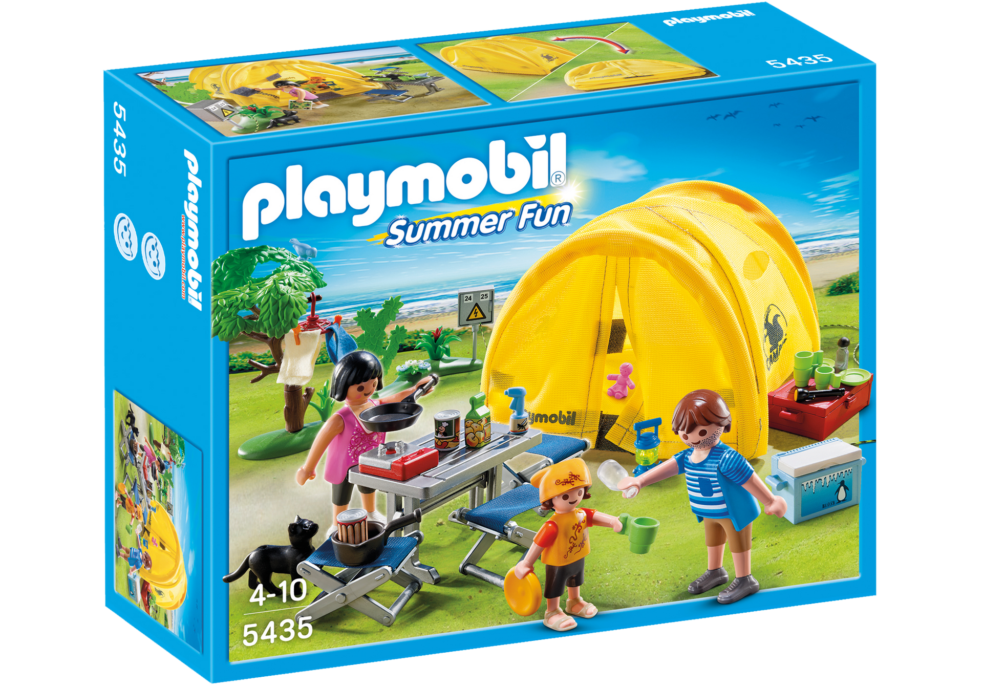 Family Camping Trip - 5435 - PLAYMOBIL® USA