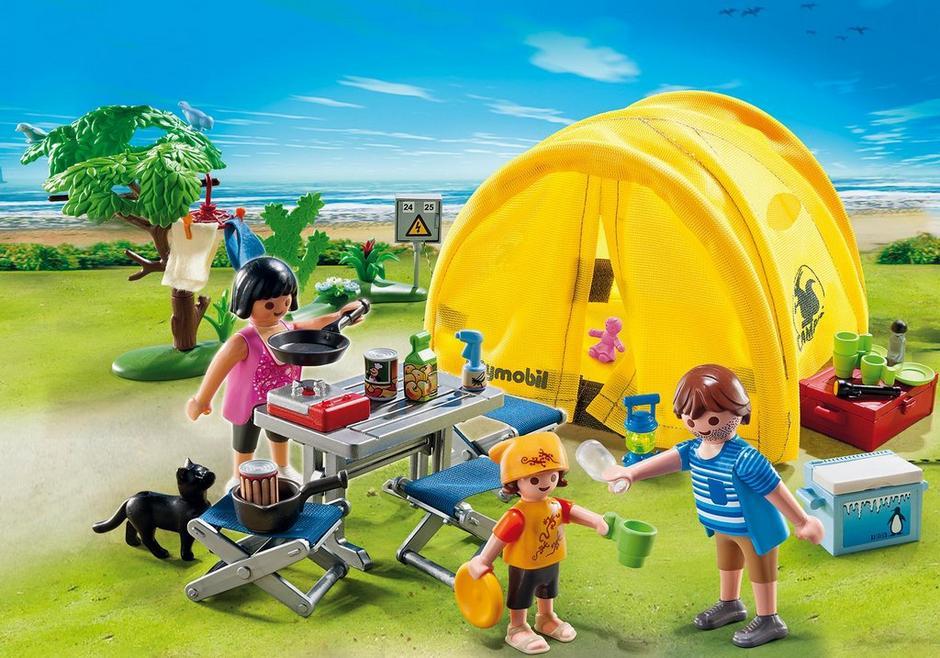 Family Camping Trip 5435 Playmobil Usa