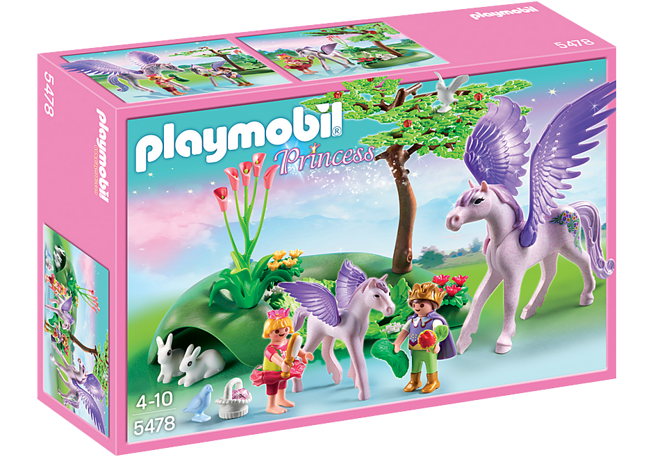 5478 Königskinder beim Baby-Pegasus detail image 2