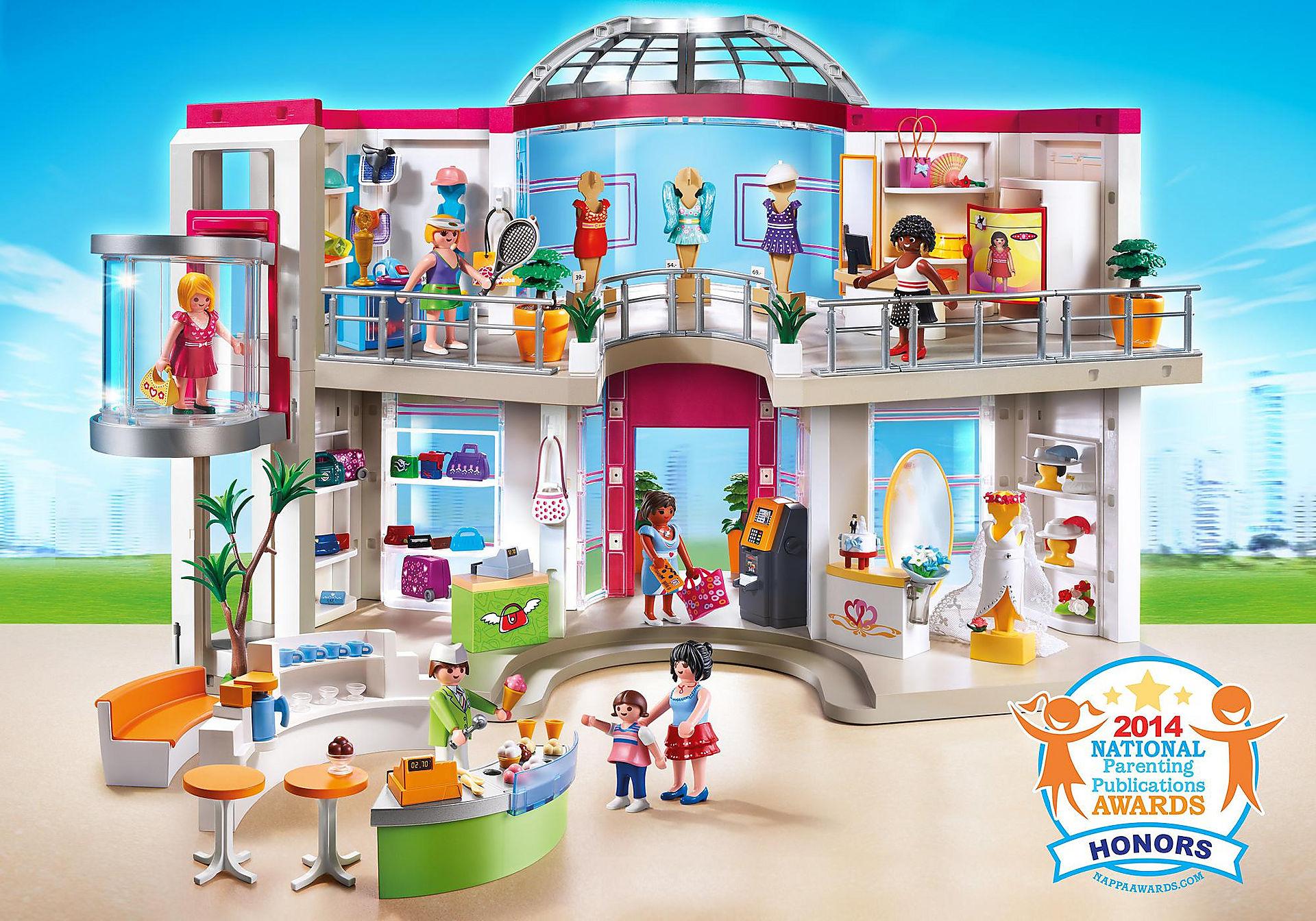 http://media.playmobil.com/i/playmobil/5485_product_detail/Μεγάλο εμπορικό κέντρο
