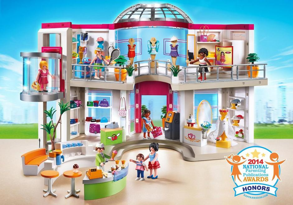 grand magasin compl tement am nag 5485 playmobil france. Black Bedroom Furniture Sets. Home Design Ideas