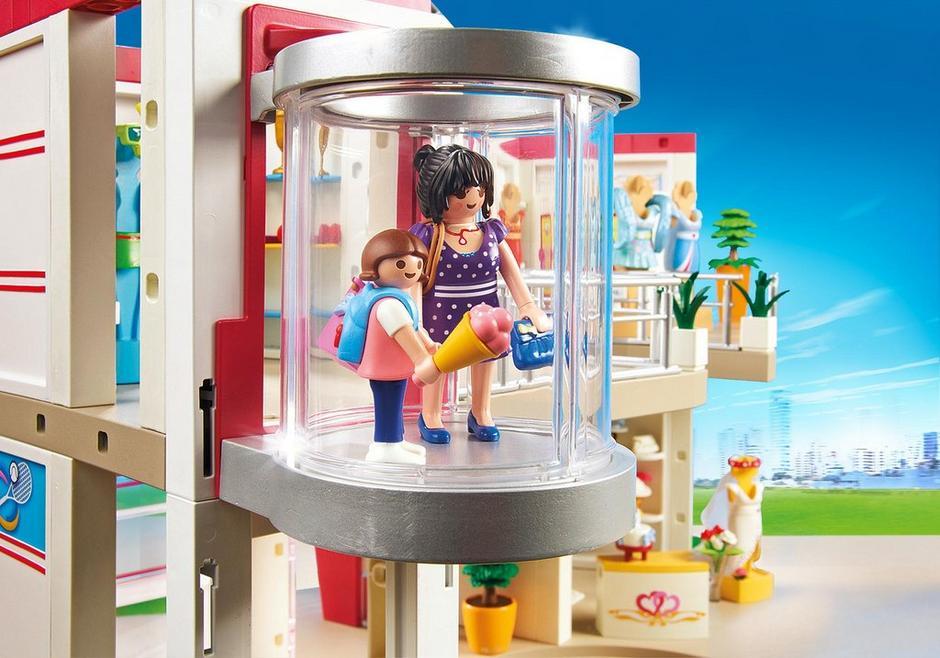 shoppingcenter mit einrichtung  5485  playmobil