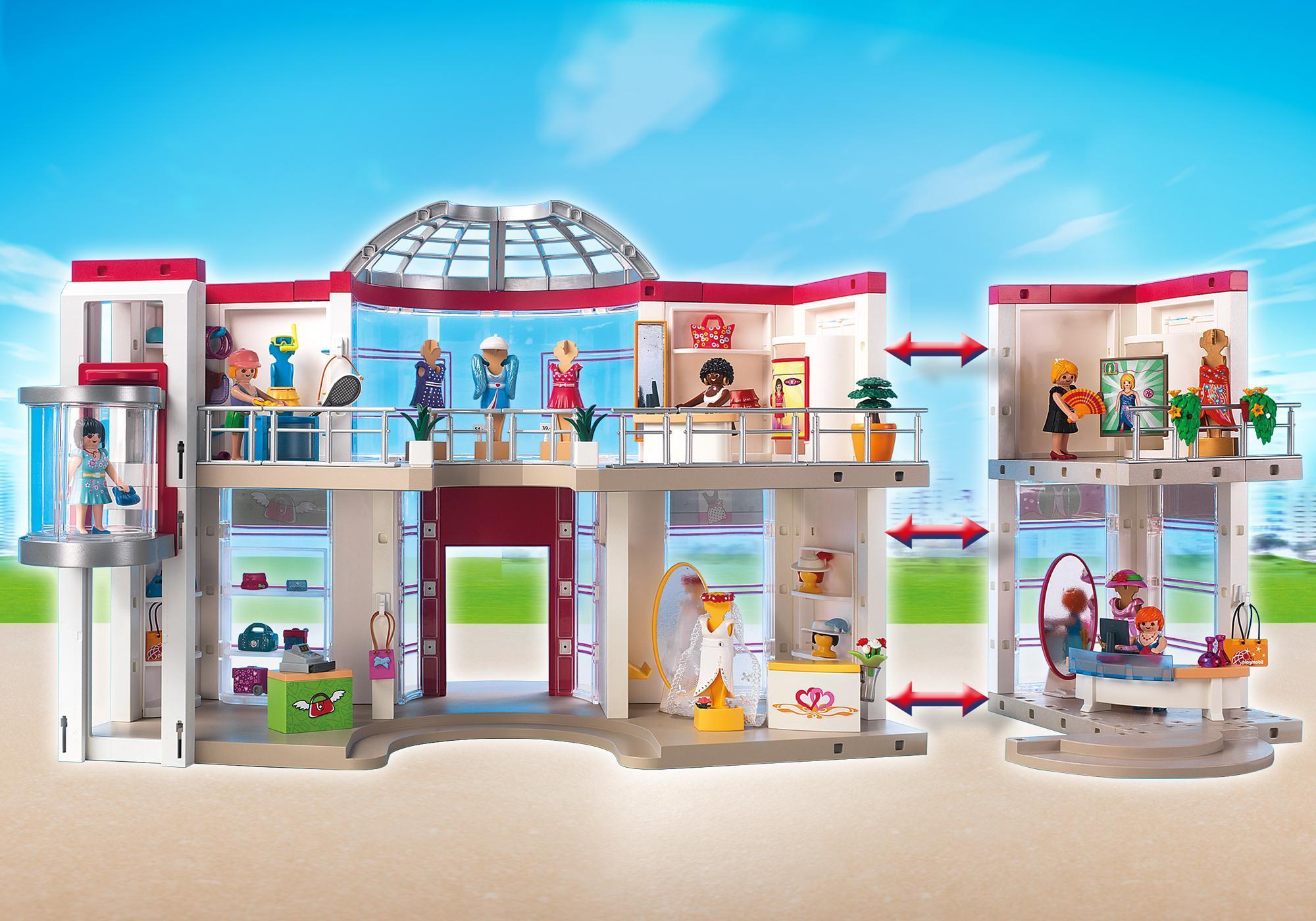 http://media.playmobil.com/i/playmobil/5485_product_extra6/Μεγάλο εμπορικό κέντρο