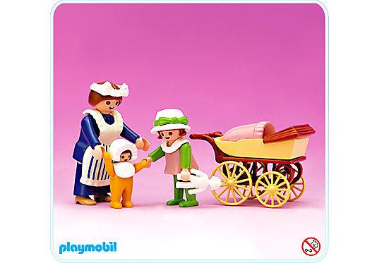 5502-A Dienstmädchen/Kinderwagen detail image 1