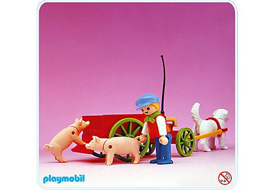 5505-A Enfant / charrette detail image 1