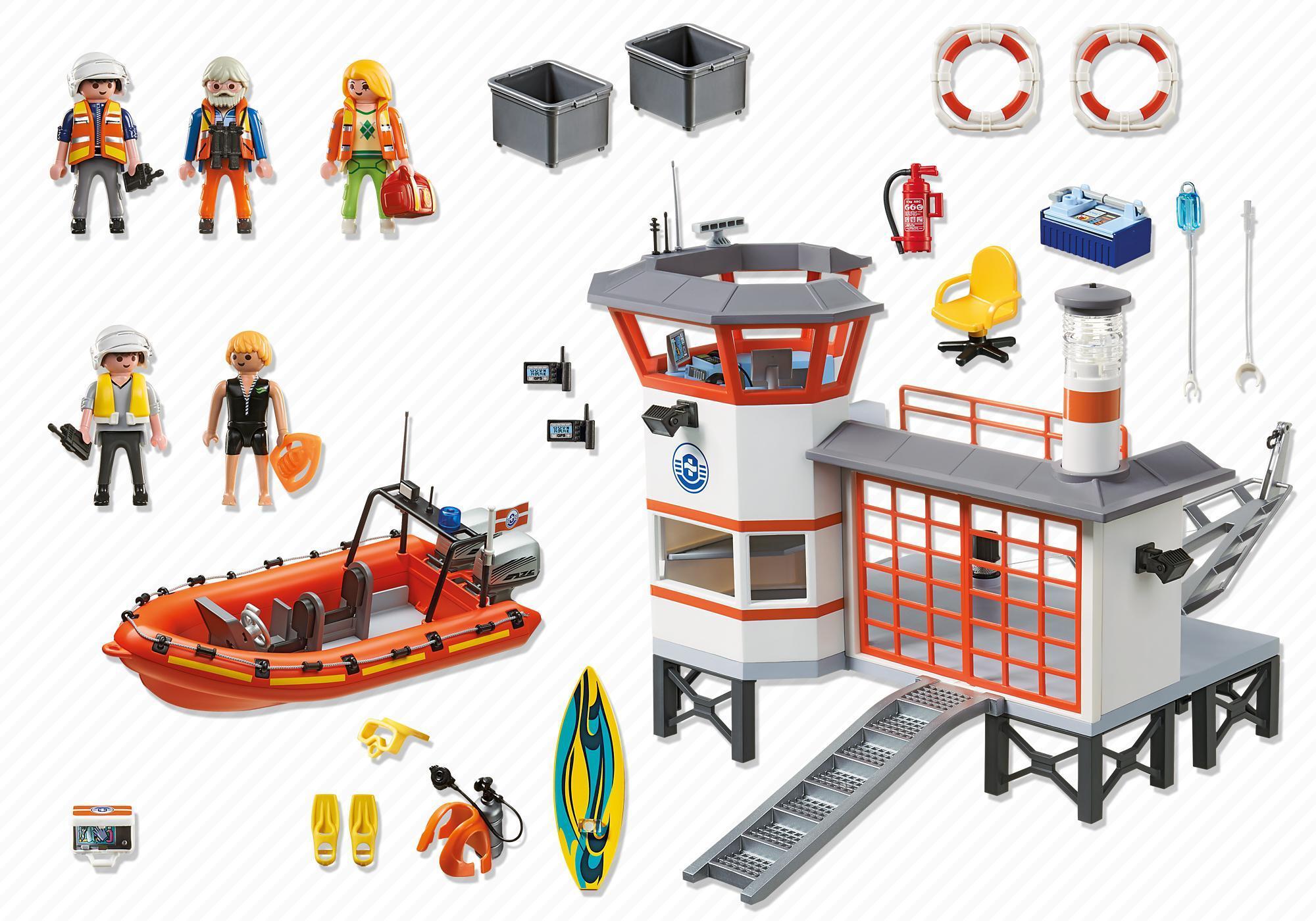 http://media.playmobil.com/i/playmobil/5539_product_box_back/Coast Guard Station with Lighthouse