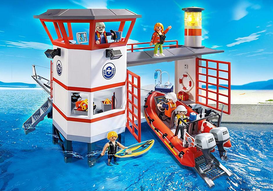 5539 Poste de secours des sauveteurs en mer detail image 1