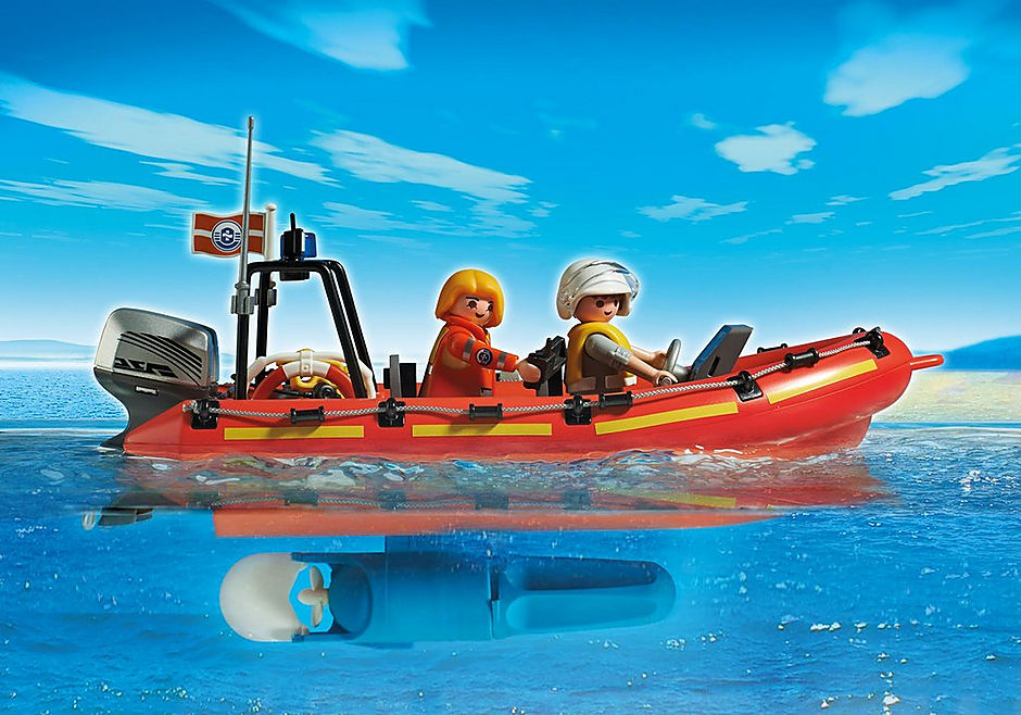 http://media.playmobil.com/i/playmobil/5539_product_extra1/Coast Guard Station with Lighthouse