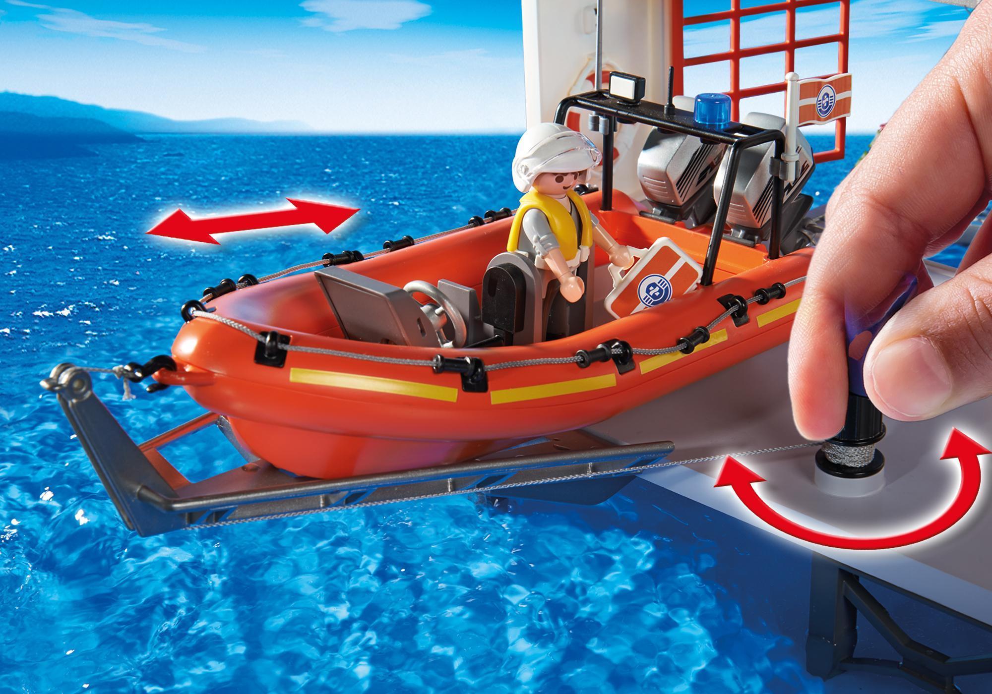 http://media.playmobil.com/i/playmobil/5539_product_extra2/Kwatera straży przybrzeżnej z latarnią