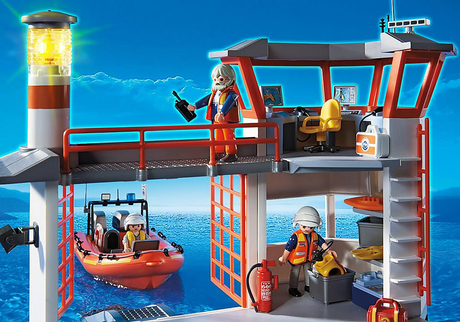 5539 Poste de secours des sauveteurs en mer detail image 7