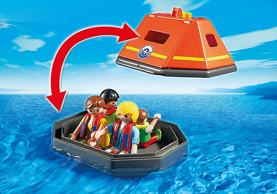 5545 Rettungsinsel detail image 4