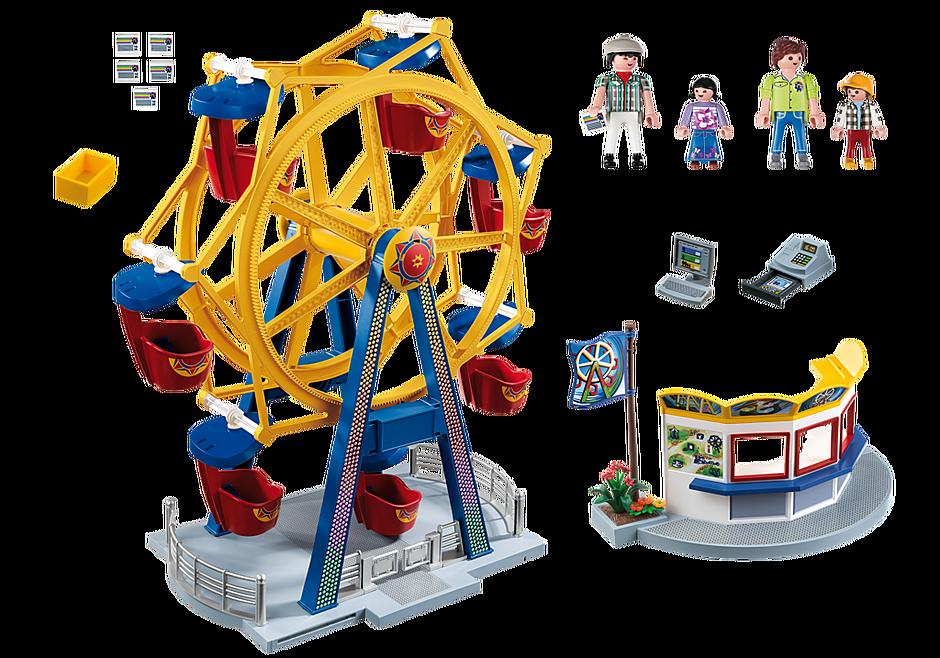 http://media.playmobil.com/i/playmobil/5552_product_box_back/Ferris Wheel with Lights