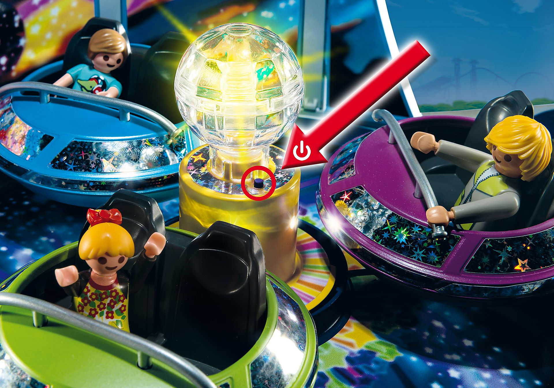 5554 Breakdancer mit Lichteffekten zoom image5