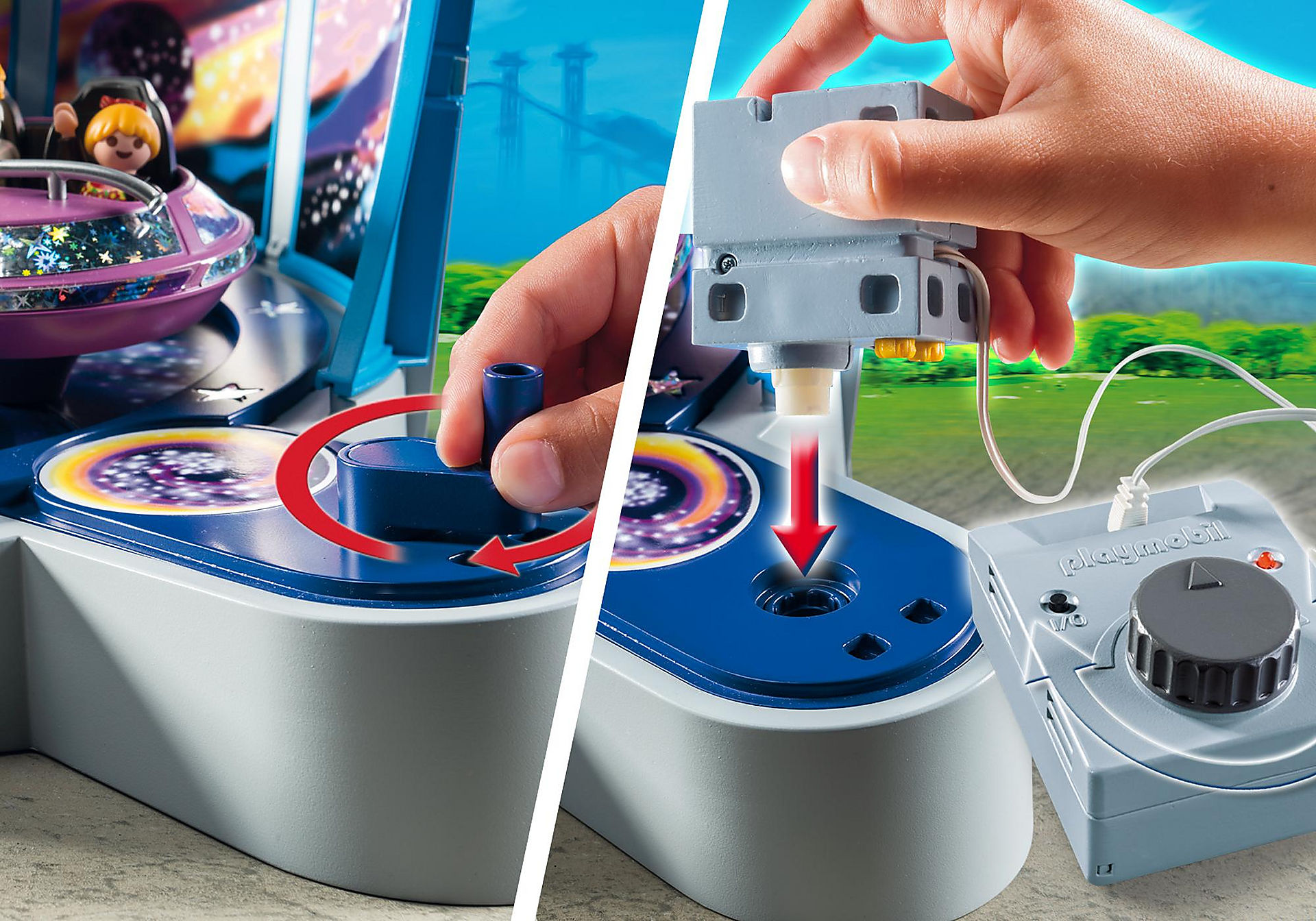 http://media.playmobil.com/i/playmobil/5554_product_extra3/Περιστρεφόμενα διαστημόπλοια με φώτα