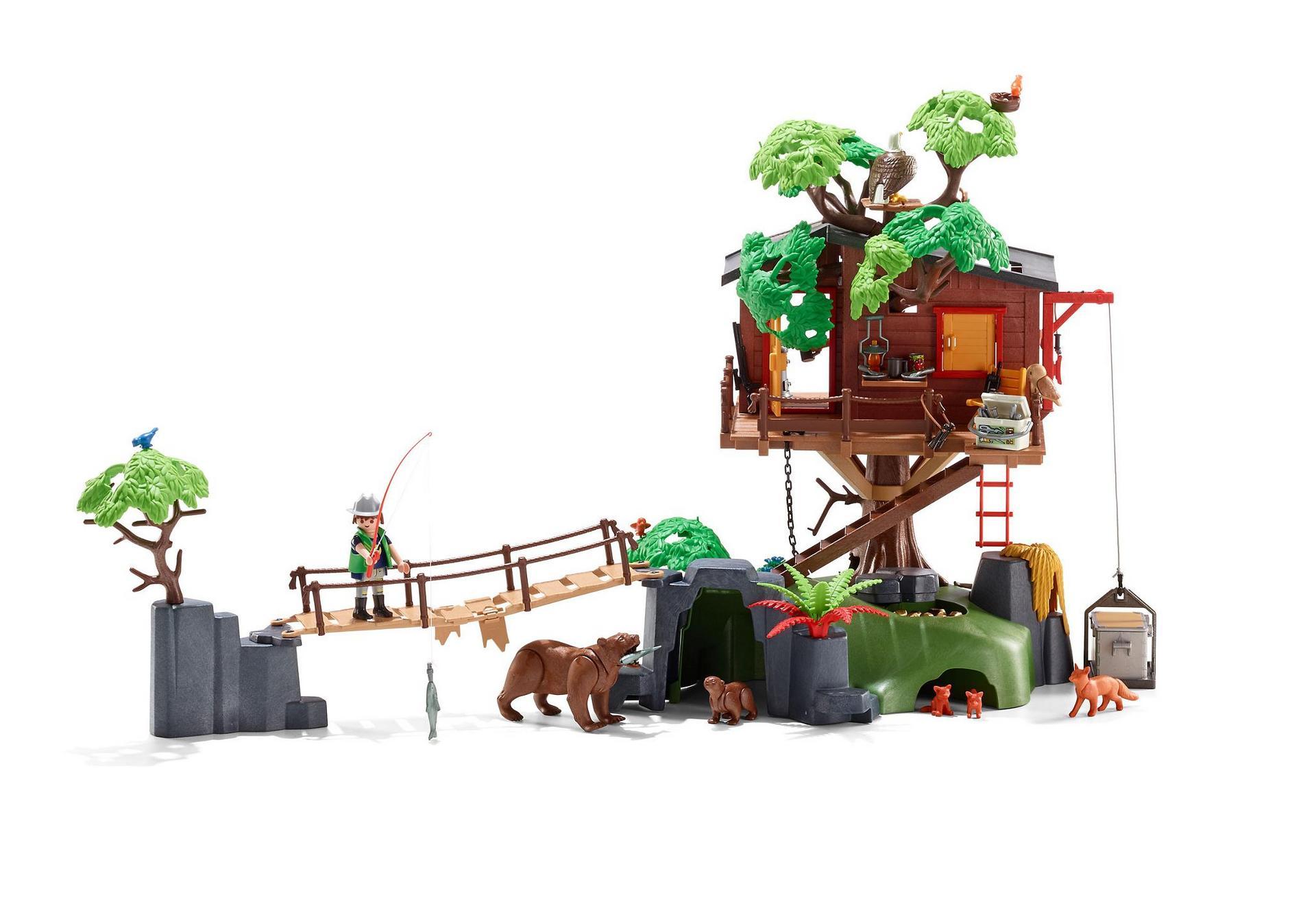 Playmobil Top Agents Ausmalbilder : Adventure Tree House 5557 Playmobil