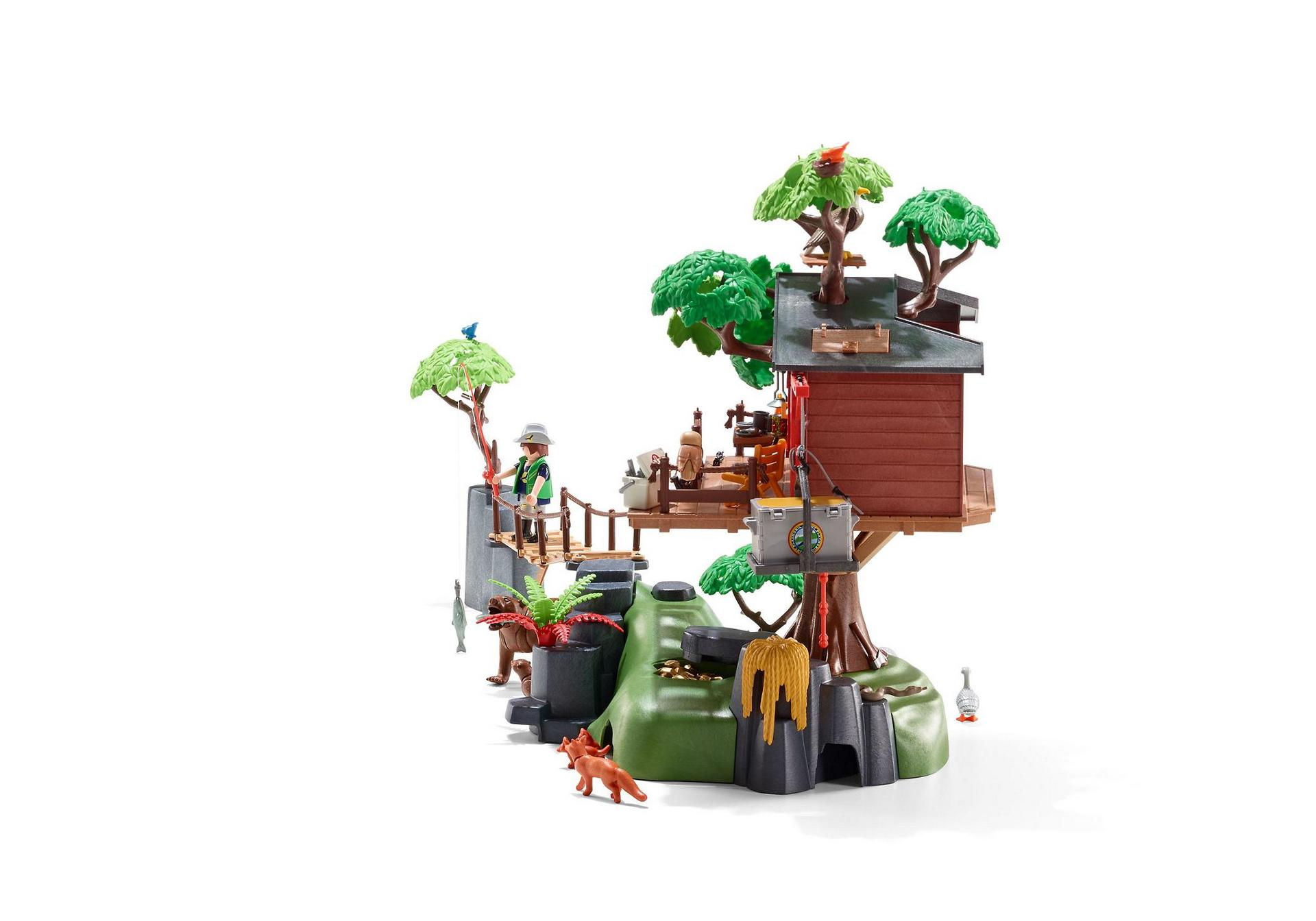 Ausmalbilder Playmobil Wild Life : Adventure Tree House 5557 Playmobil Estonia