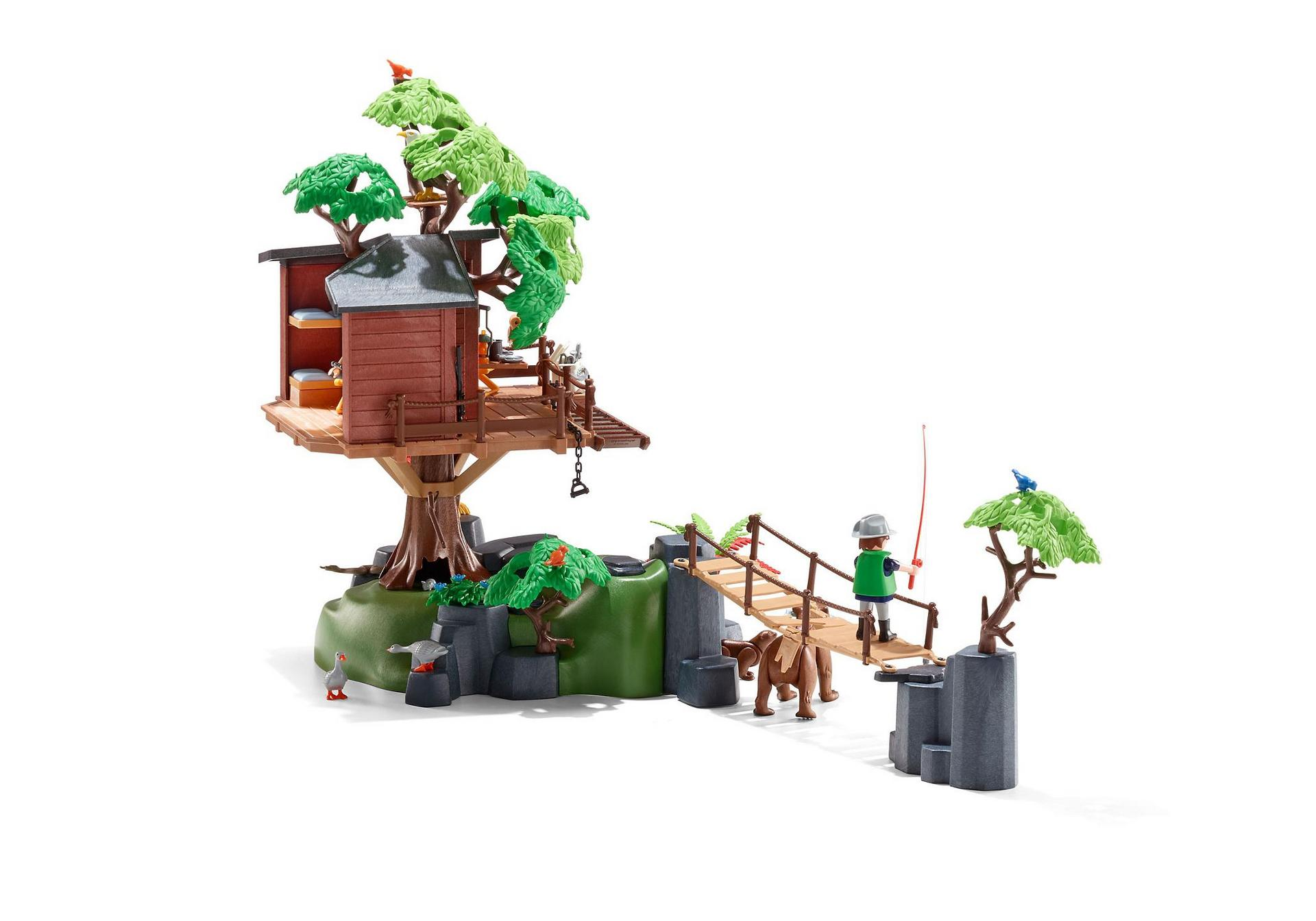 Ausmalbilder Playmobil Wild Life : Adventure Tree House 5557 Playmobil Estonia
