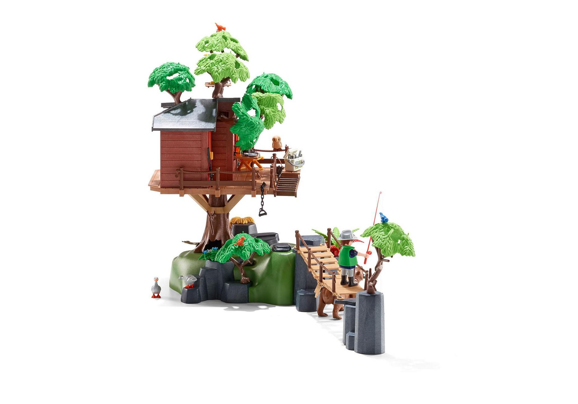 Ausmalbilder Playmobil Super 4 : Adventure Tree House 5557 Playmobil Estonia