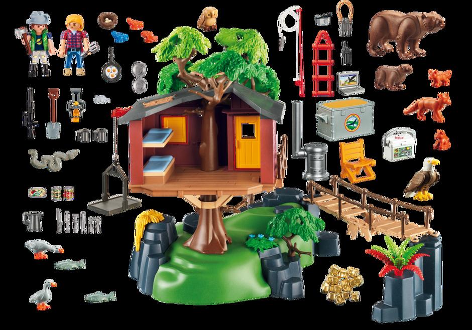 Casa del rbol de aventuras 5557 playmobil espa a for Casa del arbol playmobil carrefour