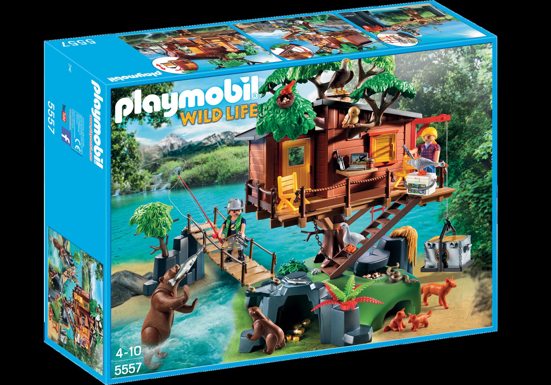 Adventure Tree House 5557 Playmobil Usa