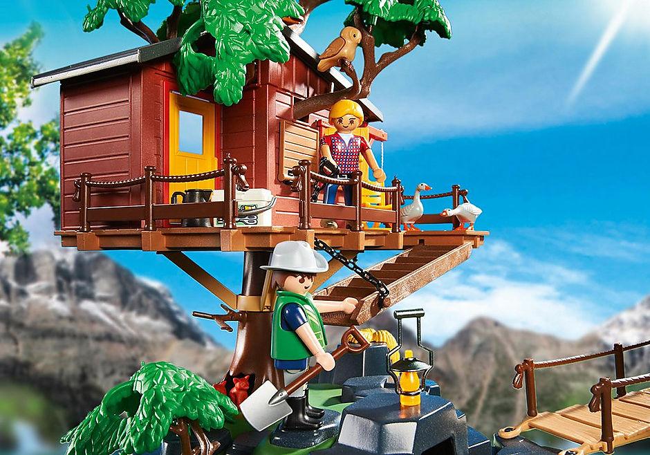 5557 Cabane des aventuriers dans les arbres detail image 6