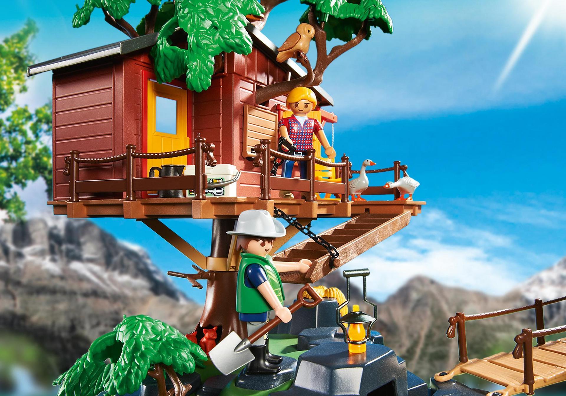 Abenteuer baumhaus 5557 playmobil deutschland for La casa de playmobil