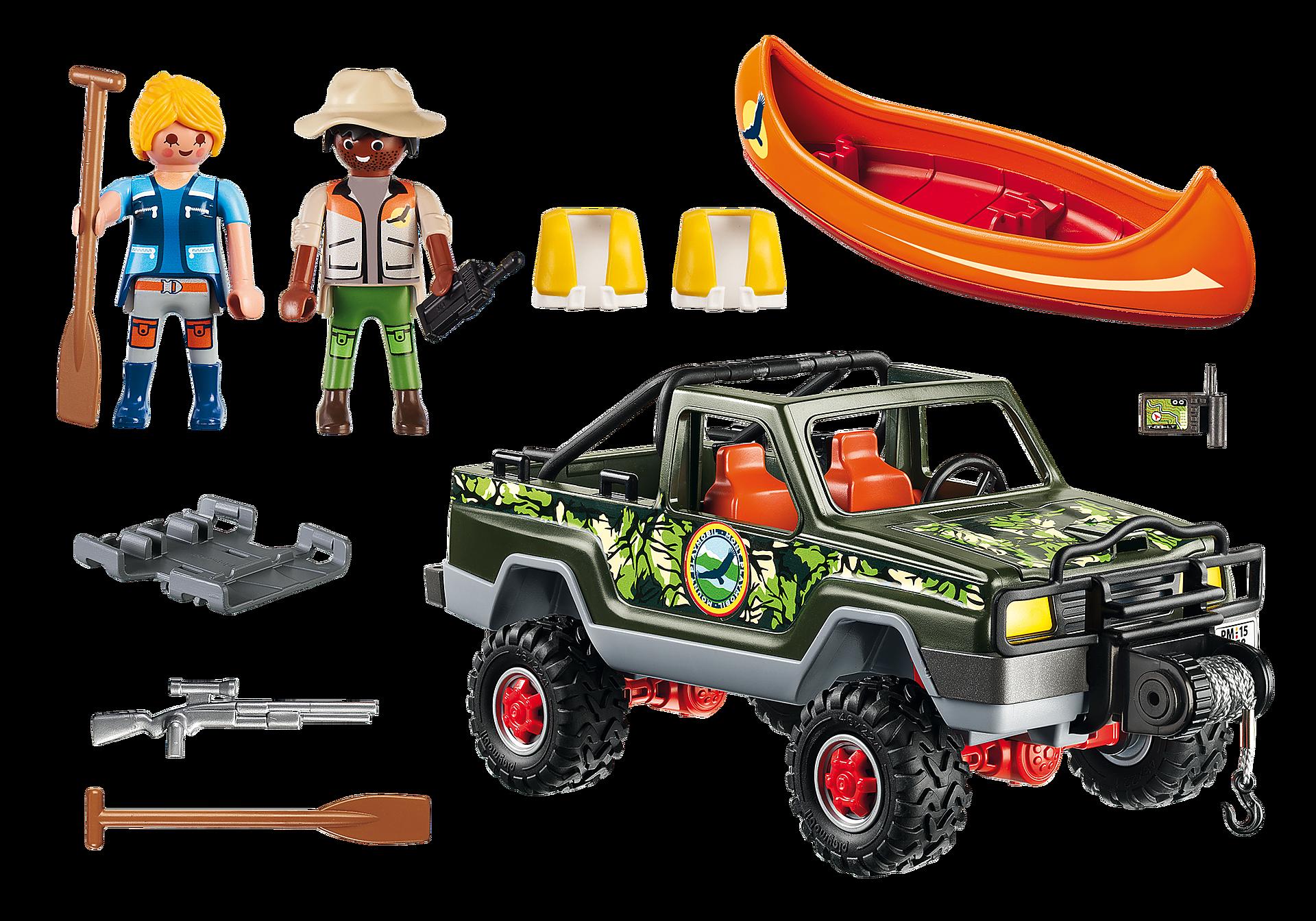 5558 Pickup-avventura  con canoa zoom image4