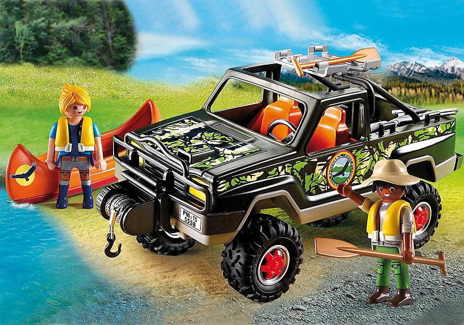 5558 Pickup-avventura  con canoa detail image 1