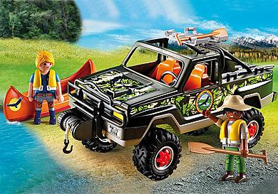 5558 Pickup-avventura  con canoa