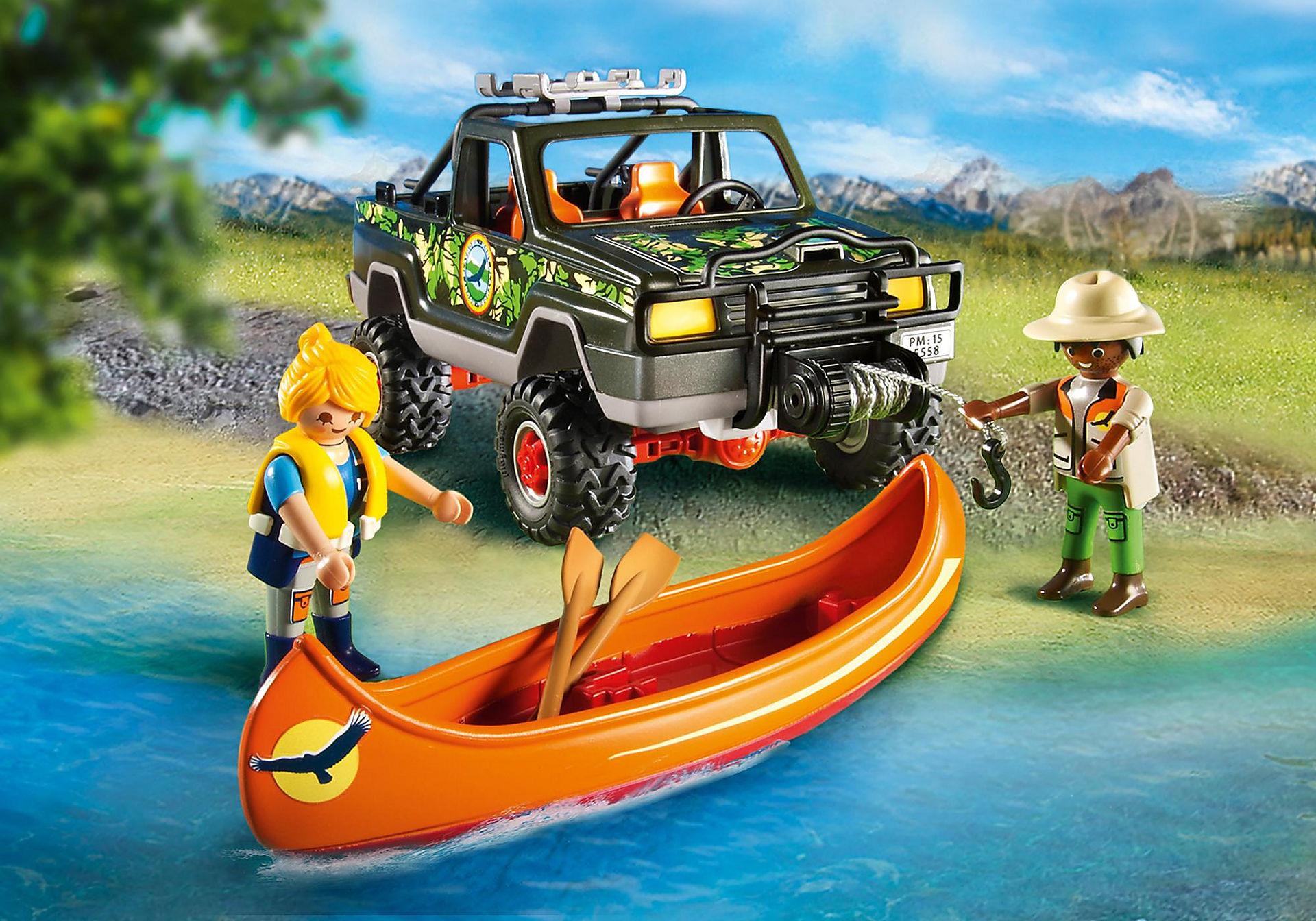 5558 Pickup-avventura  con canoa zoom image6