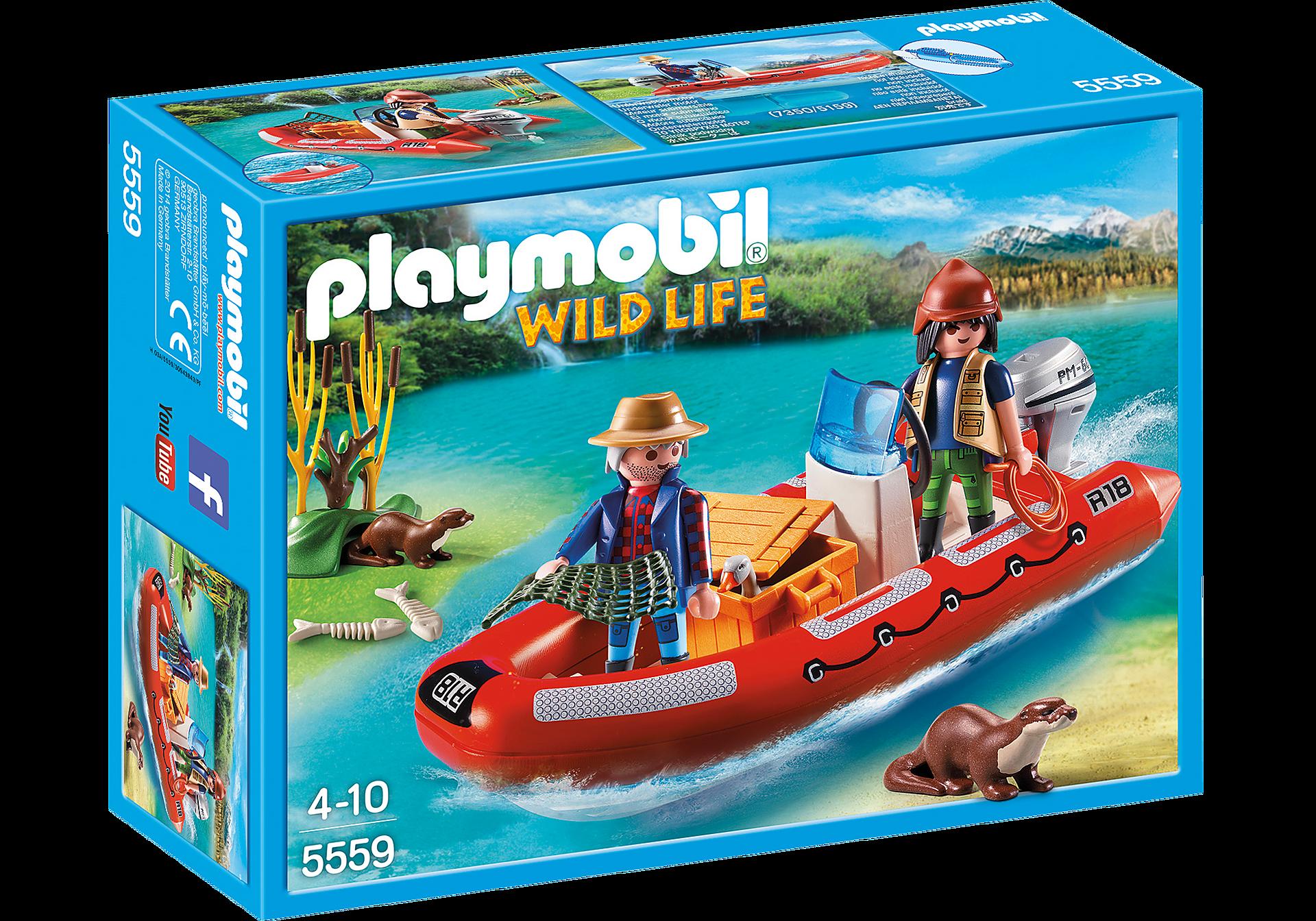 http://media.playmobil.com/i/playmobil/5559_product_box_front/Bote Hinchable con Exploradores
