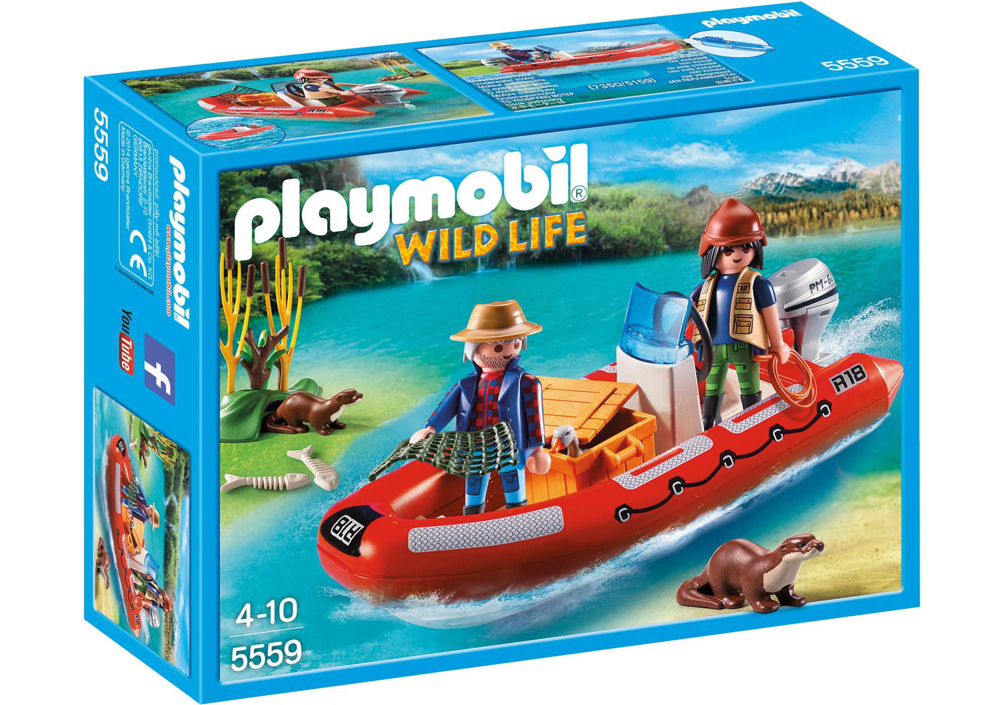 http://media.playmobil.com/i/playmobil/5559_product_box_front/Schlauchboot mit Wilderern