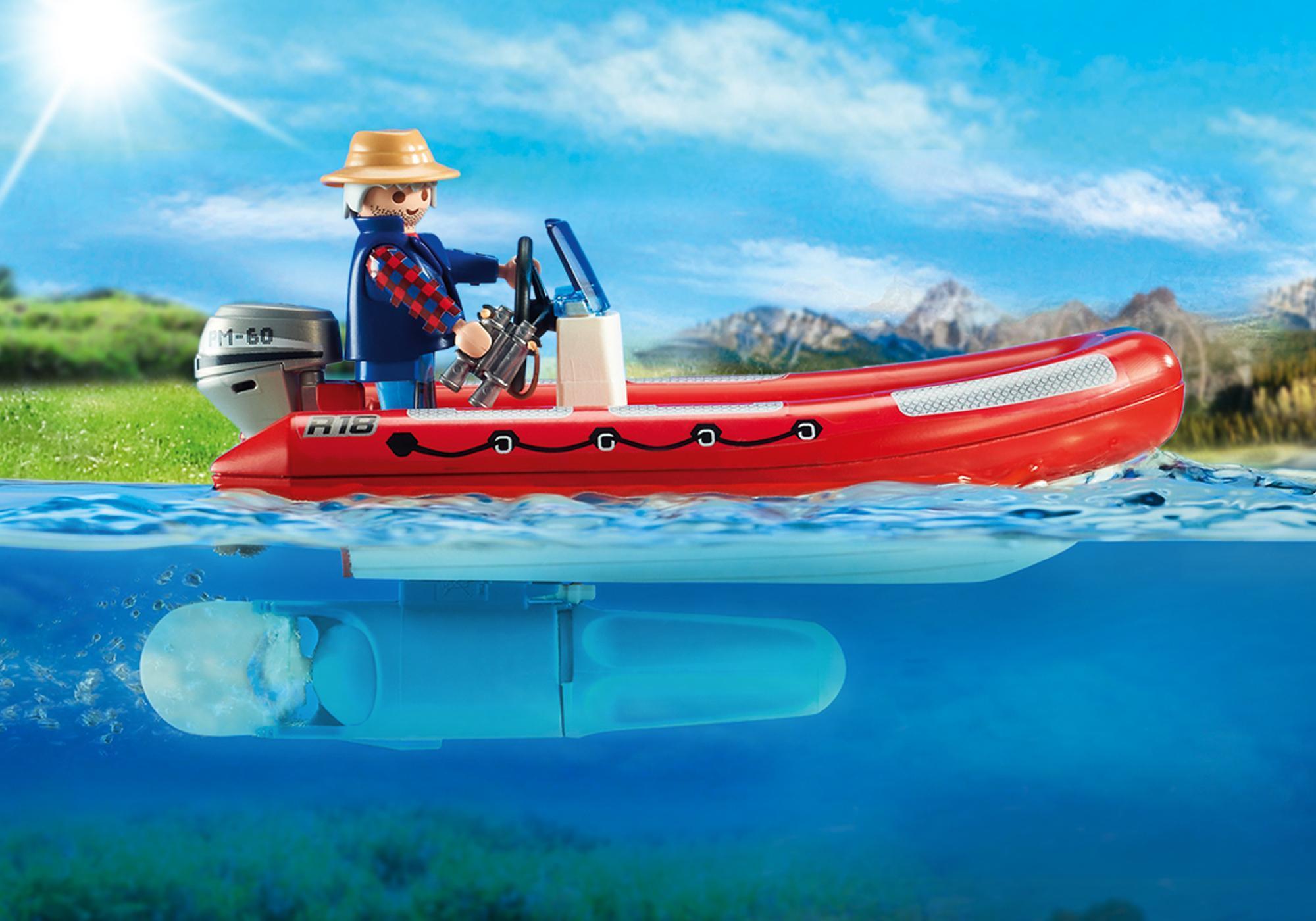 http://media.playmobil.com/i/playmobil/5559_product_extra1/Bote Insuflável com Exploradores