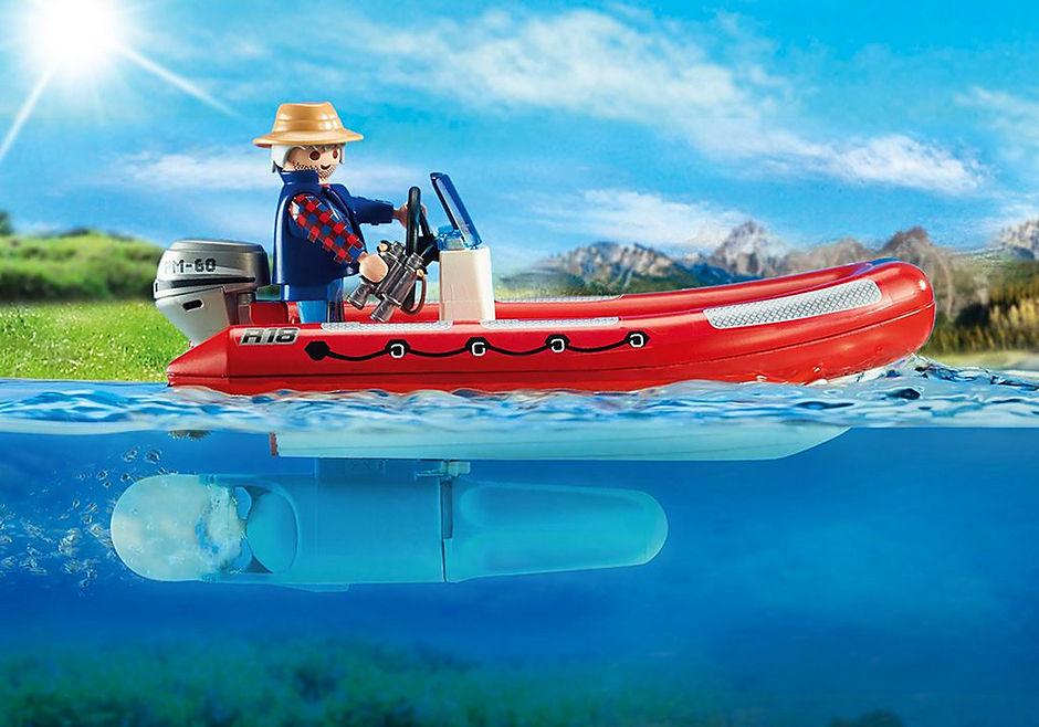 5559 Braconniers avec bateau  detail image 4