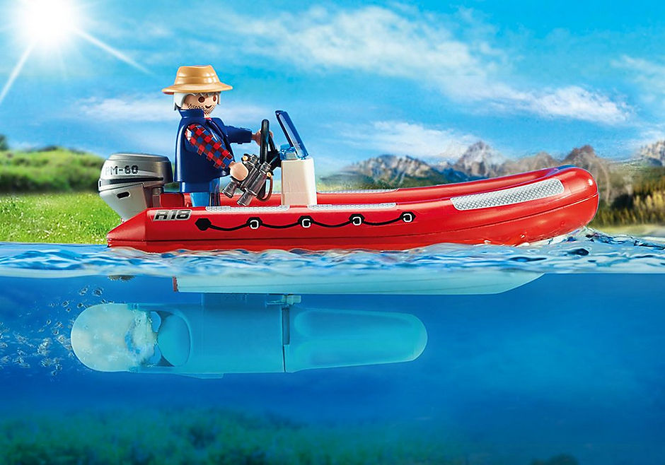 5559 Gommone-avventura con esploratori detail image 4